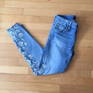 """Kut from the Kloth """"Connie"""" Embroidered Jeans"""